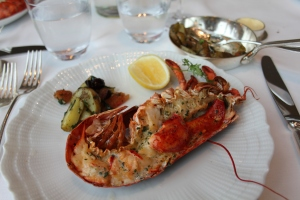 Grilled lobster - delicious