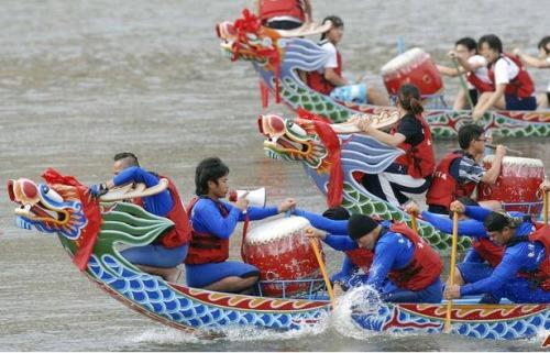 Dragon Boat Festival in Shanghai
