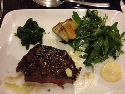 Wagyu Ribeye Steak - fantastic!