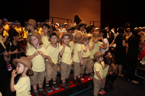 Oliver's class - on safari!