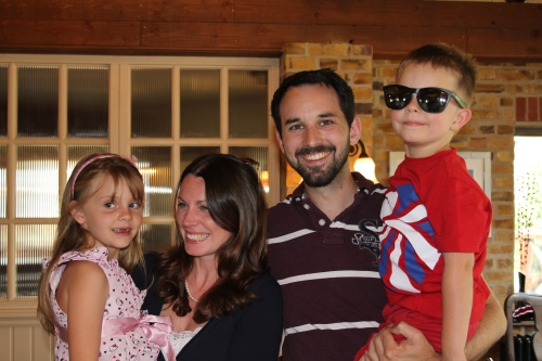 Isabelle, Caroline, Jez & Oliver