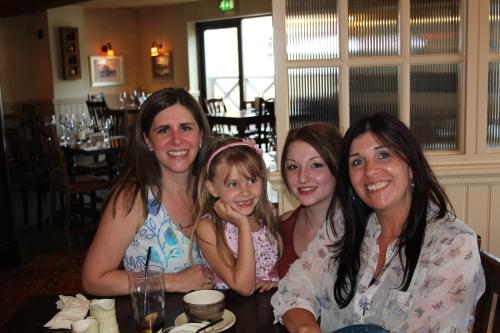 Sara, Isabelle, Harley and Kim