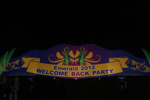 """Welcome Back to Emerald 2012"" Party"