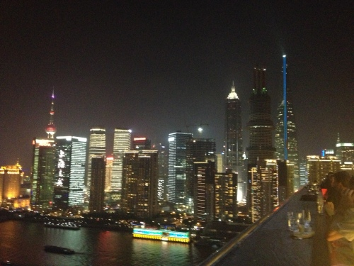 Fabulous view of downtown Shanghai