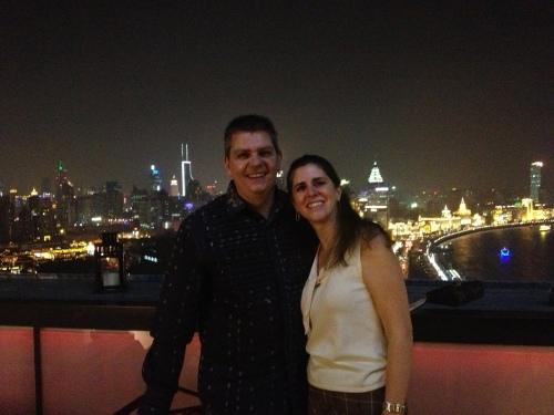 Owen & Sara at the Char Bar, Hotel Indigo