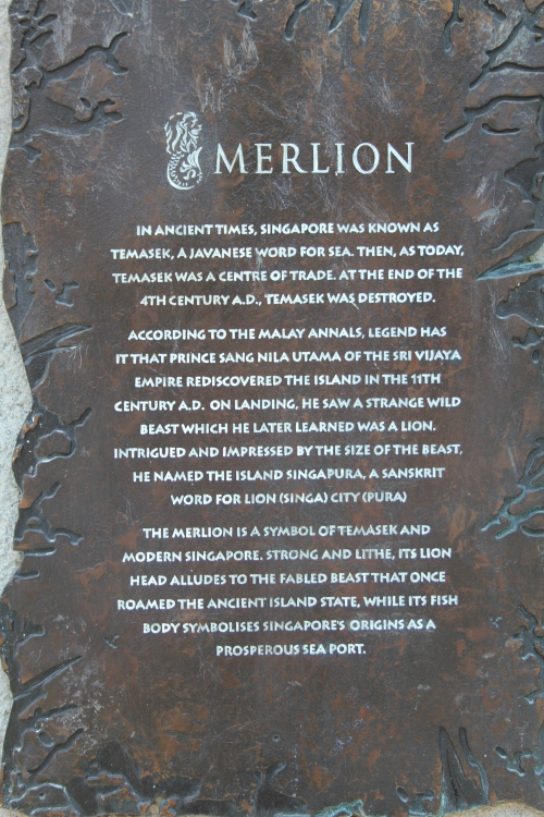 The Legend of the Merlion