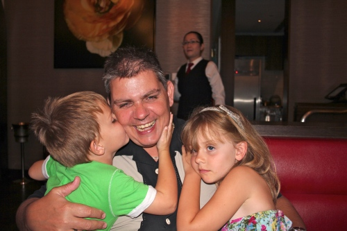 We love you Daddy and what a fantastic meal!