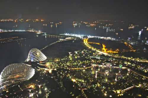 Singapore at night is amazing.