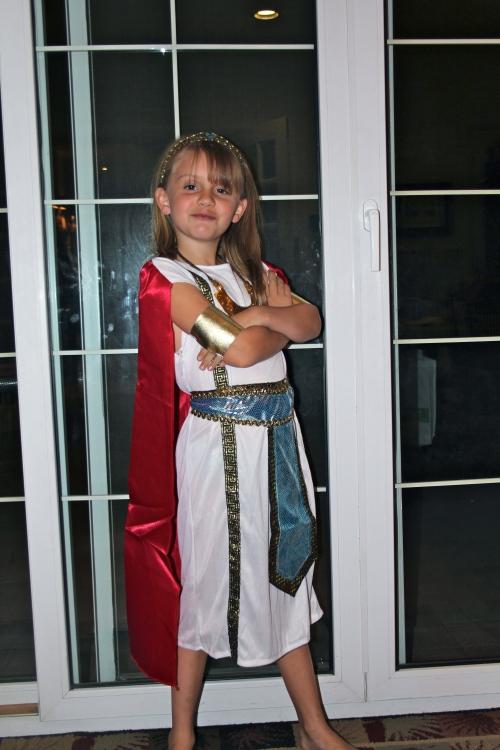 I am a Roman Goddess!
