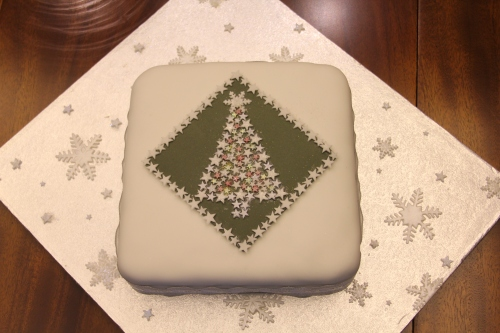 Owen's fabulous Christmas Cake