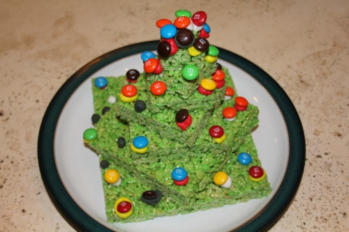 The Rice Krispy Christmas Tree that started it all!