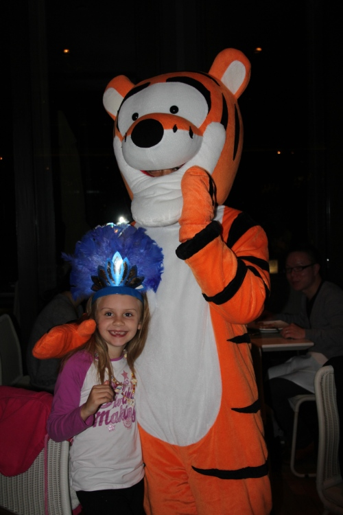 Tigger with Isabelle!