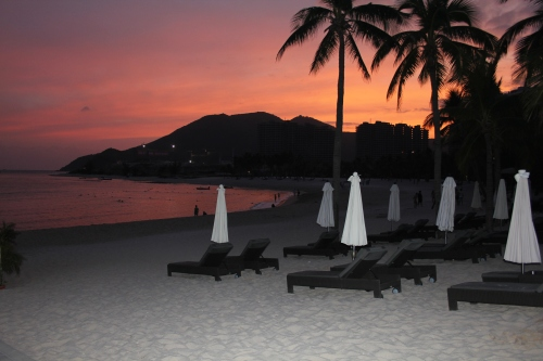 A beautiful Sanya sunset.