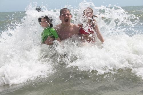 .....And Splash!