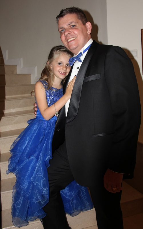 Owen (Bond, Owen Bond) and our lovely, beautiful daughter.