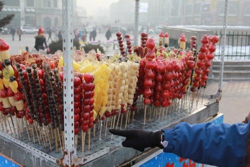 Fruit on a stick