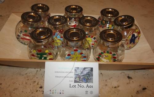 Oliver's class - Reception Alder Glass Jars