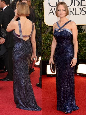 The Jodie Foster dress that I really liked and wanted copied!