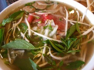 Delicious and yummy Vietnamese Pho.