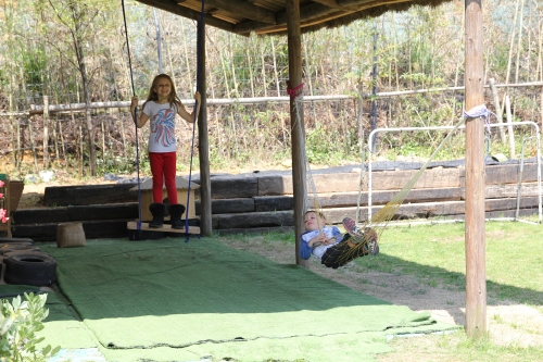 Indoor and outdoor activities at the Kids Club,
