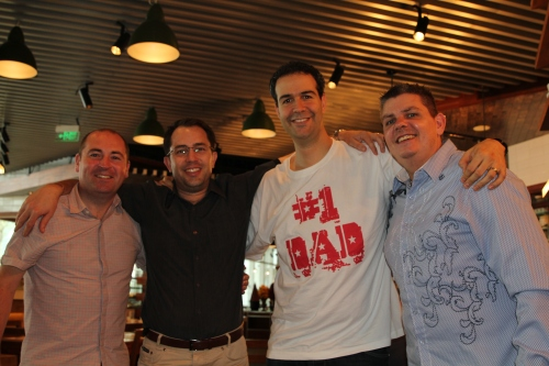 The Fathers on Father's Day - Scott, Matt, Rob and Owen