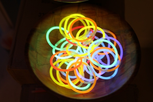 Glow bangles ready to go!