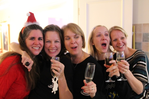 Sara, Marie, Jane, Emma and Jo - good times!