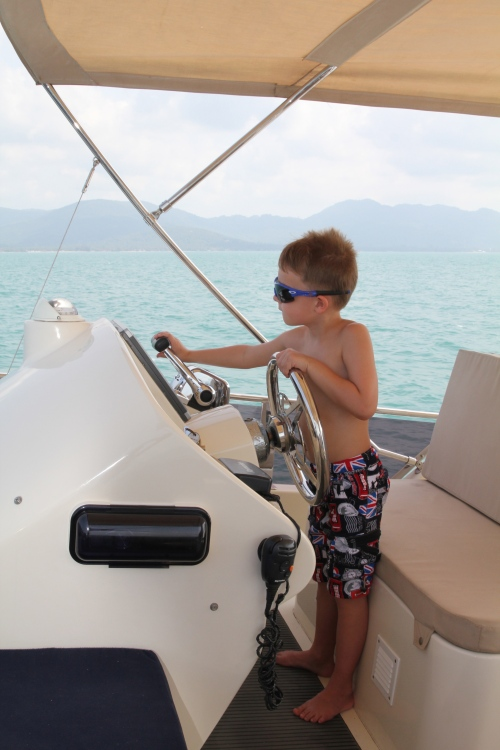 Captain Oliver in charge!