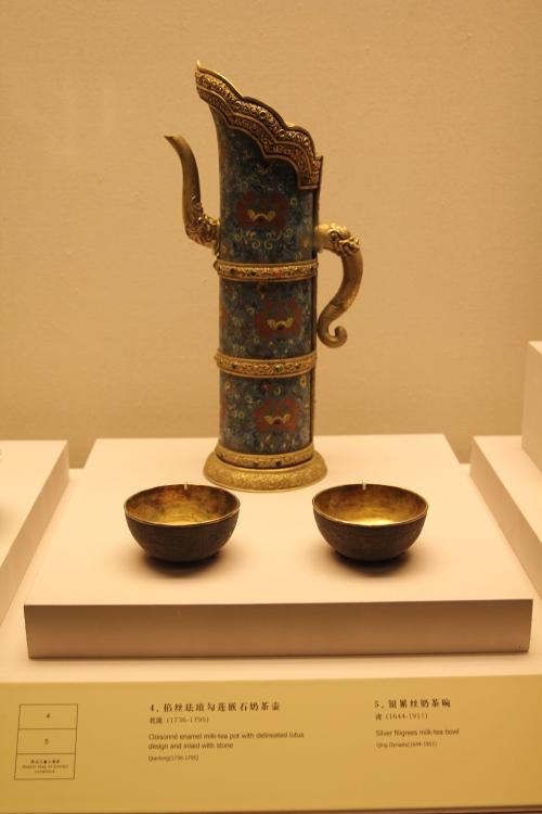 A centurys old teapot.