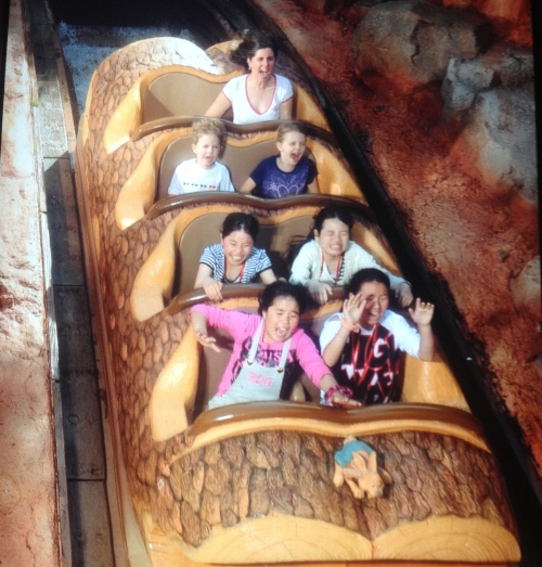 Our Splash Mountain photo!