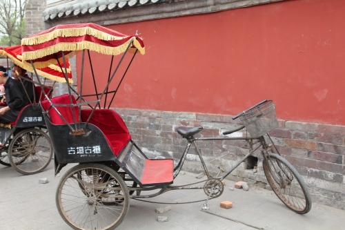 A rickshaw!