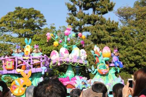 The Disney Easter Parade