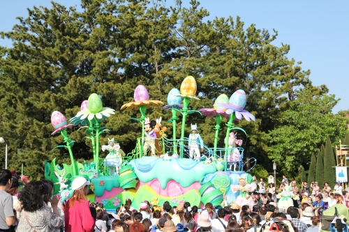More Easter Carnival floats