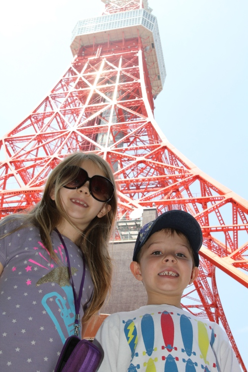 About to experience Tokyo Tower