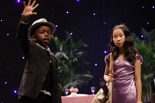 Bugsy Malone and Blousey Brown - both perfectly cast!