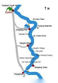 The River Cruise Route.  A 4-5 hour ride through spectacular scenery.